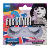Eye Candy Strip Lashes 012 Volumise 60's Look Natural False Lashes by Invogue Ltd