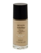 Revlon Colorstay Foundation 24hrs Makeup 30ml | RRP .2.49 | (Buff 150 Combination/Oily Skin) by Revlon