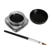 Tonsee® 1x Eyeliner Gel Cream With Brush Makeup Black Waterproof Eye Liner