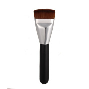 Foxpic Professional Flat Top Contour Brush Makeup Brushes Foundation Face Cheeks Powder Cosmetic Contouring Sculpting Tool