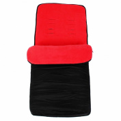 Universal Super Soft Footmuff To Fit Quinny Buzz/Zapp/Zapp Xtra/Moodd - Red