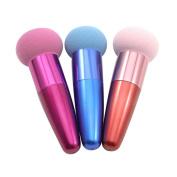 chendongdong HOT colourful COSMETIC MAKEUP BRUSHES SET LIQUID CREAM FOUNDATION SPONGE BRUSH