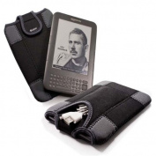 E-Volve e-glove neoprene sleeve case cover & cable pouch for all 15cm screen e-book readers including Sony Reader PRS-650 / PRS-600 / Iriver Story / Be-book / Nook / Elonex / Kobo Touch Glo / PocketBook