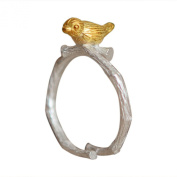 Sanwood Women Ring Elephant Adjustable Alloy Jewellery