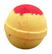handmade bathbomb tennis ball size (Scent