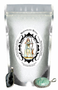 Goddess Artemis Sacred Sage Essential Oil Bath Salts & Jewellery Inside