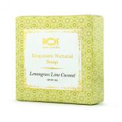 HANDMADE SOAP LEMONGRASS LIME COCONUT W/ ESSENTIAL OILS ALL NATURAL