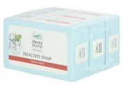 Snake Brand Natural Cool Classic Fresh Healthy Soap 3 Bar