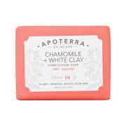 Apoterra Skincare - Organic Chamomile + White Clay Complexion Soap
