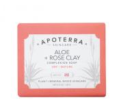 Apoterra Skincare - Organic Aloe + Rose Clay Complexion Soap