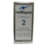 Lot of 3 Nailtiques Formula 2 Nail Protein 30ml