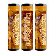 CannaSmack Pineapple Express Spf 15 Hemp Lip Balm - Set of 3 - Pineapple Flavour