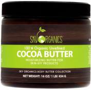 Organic Cocoa Butter By Sky Organics