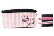 Victoria's Secret Original Classic Cosmetic Bag & Hair Ties