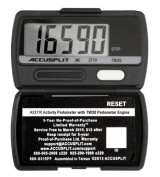 ACCUSPLIT AX2720STEP (AX2710) Accelerometer Pedometer by ACCUSPLIT