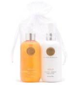 Niven Morgan Gold Hand Soap & Lotion Set 280ml