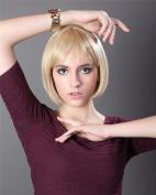 Superwigy. New Synthetic Bob Wig Women Short Straight Wigs Glamorous Kanekalon Highlights Resistant Hair Wig