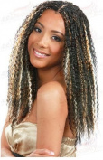Bobbi Boss Synthetic Hair Braiding Bohemian Curl Braid 1B