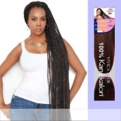Vivica a Fox Kanekalon Jumbo (6packs) Jkb-v Hair Extension #1b