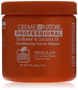 Creme of Nature Professional Conditioning Relaxer, Sunflower and Coconut Oil, 440ml