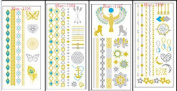 Flash Tattoos Shop - HUGE 12-sheet pack - Temporary Tattoos - Over 180 tatoos!