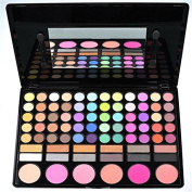 GAGA Professional 78 Colours Eyeshadow Combination Pallet Eye Shadow Palette Cosmetic Makeup Kit Set with Blush, Highlighters and Liner Shades #1