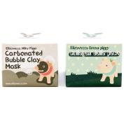 Elizavecca Green Piggy Collagen Jella Pack 100g + Milky Piggy Bubble Clay Mask 100g