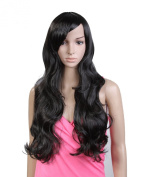Cool2day®cosplay Women's 75cm Long Natural Wave Hair Heat Resistant Wig Jf209-3