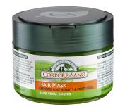 Corpore Sano Hair Mask-Juniper & Aloe-Restores & Moisturises-CERTIFIED ORGANIC-HYPPOALLERGENIC-NO PARABENS-250ml/8.4 fl oz