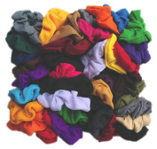 Scrunchie Party Pack - 50 Assorted Scrunchies