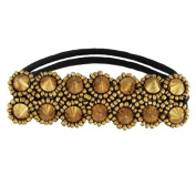 Tassel Melrose Hair Tie, Gold
