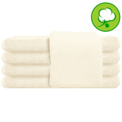 White Salon Towel 100% Cotton 41cm x 70cm . Hand Towel- 1 DOZEN