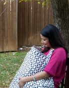 Darlings World - Breast Feeding Nursing Cover. 100% Breathable Cotton. Lifetime Warranty
