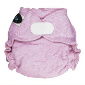 Imagine Baby Products Newborn Fitted Rayon From Bamboo Hook and Loop Nappy, Lilac