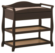 Stork Craft Aspen Changing Table with Drawer, Espresso