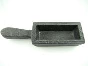 2370ml Gold Bar Loaf Cast Iron Ingot Mould - Scrap Silver 1180ml - Copper Aluminium