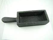 5910ml Gold Bar Loaf Steel Ingot Mould Silver 2960ml Cast Iron- Smelting Sterling