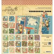 Graphic 45 Children's Hour Pad, 20cm x 20cm