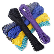 ADB Inc 108 Colours Paracord 550 Paracord Parachute Cord Lanyard Rope Mil Spec Type III 7strand 30m Climbing Camping Survival Equipment