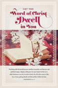 B & H Publishing Group 75251 Bulletin - Let The Word Of Christ Dwell In You