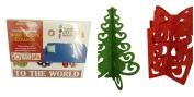 3 Pc Custom Reuseable Decorating Bundle Includes