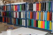 5 kinds of Heat Press Craft T-shirt Heat Transfer Vinyl Cut by Plotter Printing