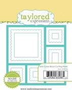 Taylored Expressions Dies - Mini Colour Block Cutting Plate