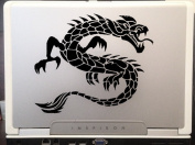 Fire Dragon Tribal Tattoo car truck SUV laptop macbook window decal sticker Approx 15cm Black