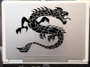 Fire Dragon Tribal Tattoo car truck SUV laptop macbook window decal sticker Approx 15cm Black