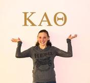 Kappa Alpha Theta Jumbo Letter Decals