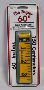 The Super 150cm Tape Measure Yellow Fibreglass 12249