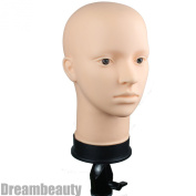 Dreambeauty Soft Viny Mannequin Head for Make Up and Massage and Wig Making