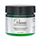 Highly Concentrated Vitamin C Cream with Ester C for Face Skin Minimises Dark Spots and Works As Moisturiser Lotion Too - 60ml 2oz