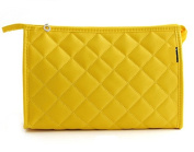 Viskey Cosmetic Bag Make-up Pouches, Yellow